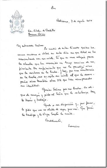 carta Papa