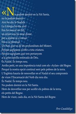 Nadal 2015 Poema Casaldàliga